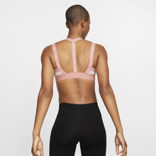Nike Indy Logo Women's Light-Support Sports Bra - Pink