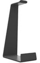 Multibrackets M Headset Holder - Monteringssats (bordsställ) för hörlurar/headset - aluminium - svart - skrivbord