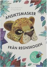 """Bok """"Ansiktsmasker från regnskogen"""" - 59% rabatt"""