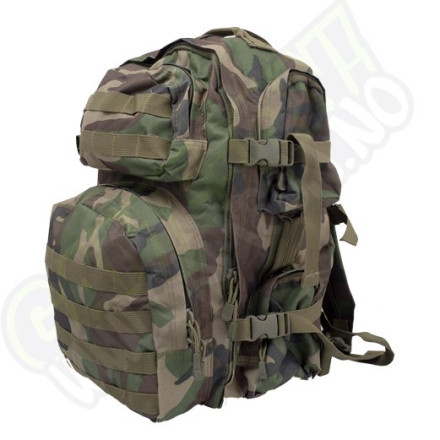 Tactical Backpack - Woodland Camo