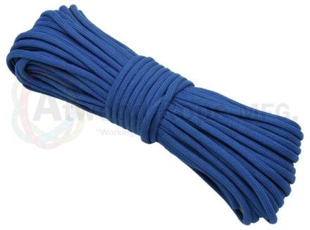Paracord 550 Kevlar Blue - 15meter Bunt
