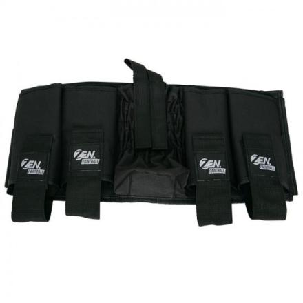 4+1 Pack Med Lomme For Lufttank - Svart