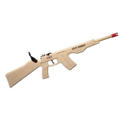 Strikkgevær - AK47 Combat Rifle - Blue Ammo