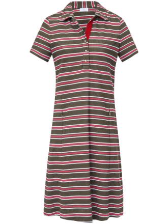 Kortärmad pikéklänning från Bogner mångfärgad