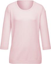 Rundhalsad tröja från Peter Hahn rosa