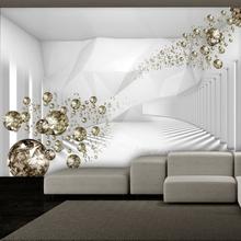 Fototapetti - Diamond Corridor (Grey)