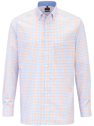 Skjorta button down-krage från Olymp mångfärgad