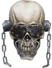Trick or Treat Megadeth Vic Rattlehead Mask