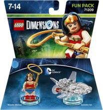 LEGO Dimensions Fun Pack: DC Wonder Woman - (PlayStation 3, Xbox 360, Xbox One & WII U)