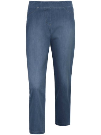 Dra på-jeans i Modern Fit, modell Best4me Roxeri från Gerry Weber Edition denim