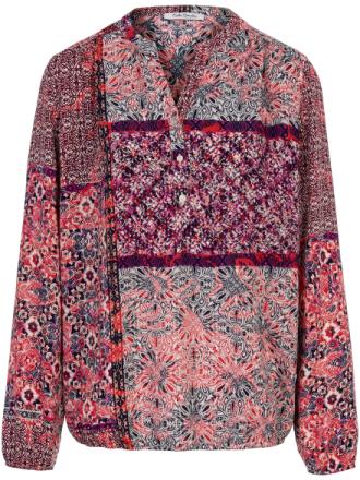 Skjorte i patchwork-look lange ærmer Fra Betty Barclay multicolor - Peter Hahn