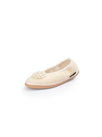 Ballerinaskor från Giesswein beige