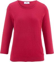 Rundhalasad tröja i 100% SUPIMA®-bomull från Peter Hahn röd