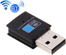 Bluetooth 4.0 + 150Mbps 2.4GHz USB WiFi Adapter