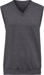 Slipover i 100% kashmir, modell Peter från Peter Hahn Cashmere grå