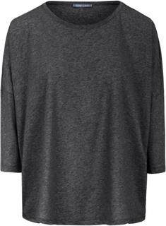 Bluse rund hals og 3/4-lange ærmer Fra DAY.LIKE grå