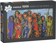 Puslespill 1000 Biter People of the World Ethiopia