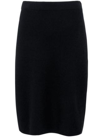 Stickad kjol från Peter Hahn svart