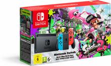 Nintendo Switch-Konsole Neon-Blau / Neon-Rot + Splatoon 2 - (Limited Edition)