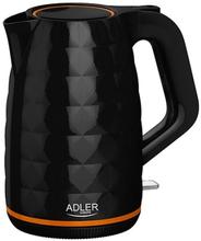 Adler Vattenkokare 1,7 L, 2200 W, Svart
