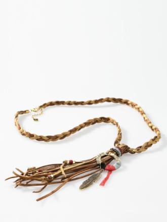 Halsband från Looxent brun