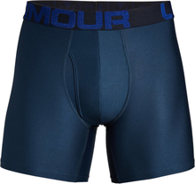 Under Armour Tech 6 Inch 2-Pack Boxerjocks - S - Navy