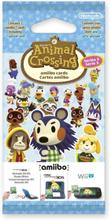 Animal Crossing Amiibo Karten (Vol. 3) 3 Stk.