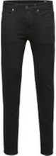 SELECTED 1001 - Skinny Fit-jeans Man Svart