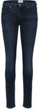 SELECTED Mid Waist - Skinny Fit-jeans Kvinna Blå