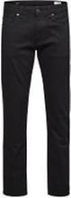 SELECTED 1001 - Regular Fit-jeans Man Svart