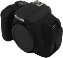 Canon EOS 600D, 650D og 700D Beskyttelsesdeksel laget av silikon - Svart