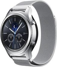 Samsung Gear S3 Frontier / S3 urlänk smartklocka rostfri stål klocka meshlänk - Silver