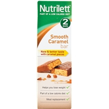 Nutrilett Smart Meal Bar 2-pack 2 kpl/paketti Karamelli