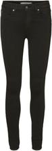 VERO MODA Lux Regular Waist Slim Fit Jeans Women Black