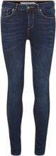 VERO MODA Vmlux Normal Waist Slim Fit -farkut Women Blue