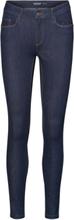 VERO MODA Vmseven Normal Waist Slim Fit -farkut Women Blue