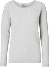 VERO MODA Texture Pullover Women Grey