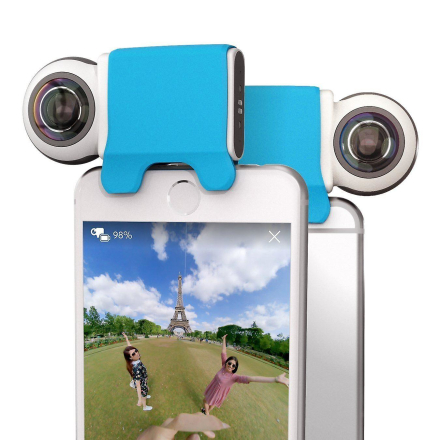 Giroptic iO - HD 360 graders kamera til iPhone og iPad