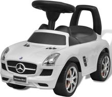 vidaXL Vit Mercedes Benz trampbil