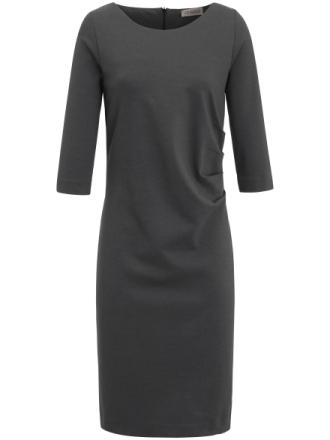Jerseykjole 3/4-ærmer Fra Uta Raasch grå - Peter Hahn