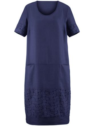 Klänning halvlång ärm från Anna Aura blå