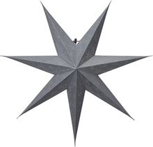 Julstjärna Decorus Silver 75cm