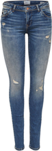 ONLY Onlsintia Low Skinny Fit Jeans Women Blue