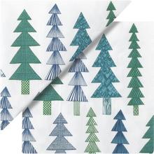 Servett Kuusikossa Gran Grön 33x33 cm