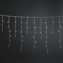 Konstsmide Istappsslinga 400 Amber Gnistrande LED 2791-812