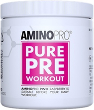 PWOPRO Pure Pre-workout, 210g, Hallon