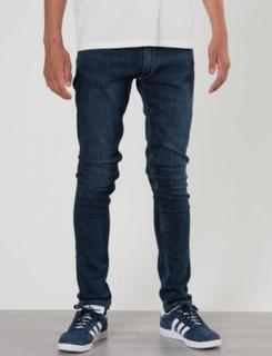 Gant, TB. GANT SLIM JEANS, Blå, Jeans till Dreng, 170 cm
