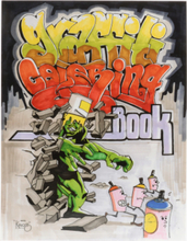Dokument Press - Graffiti Coloring Book - Multi - OneSize