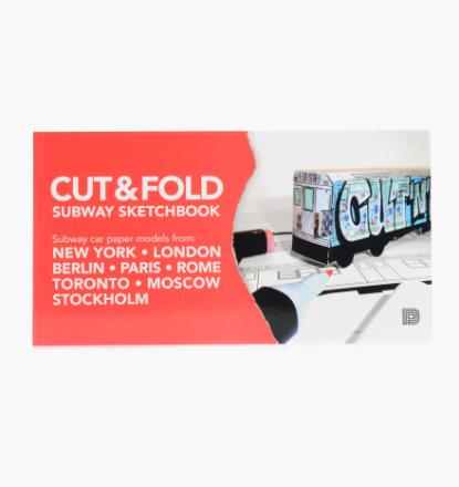 Dokument Press - Cut And Fold Subway Sketchbook - Multi - OneSize