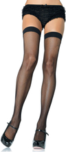 NYLON FISHNET THIGH HIGHS OS